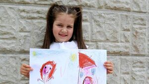 Cork children capture lockdown life through art