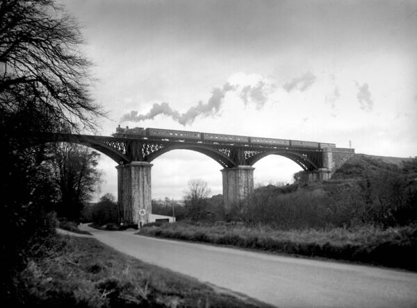 The West Cork railway ran across the Chetwynd Viaduct