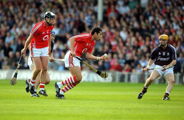 Action from the 2008 win over Galway, Cork's best performance in the Gerald McCarthy era. Picture: Eddie O'Hare