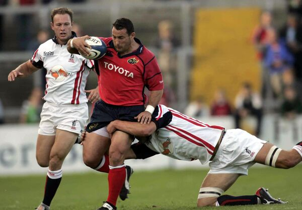 Munster cult hero Federico Pucciariello. Picture: INPHO/Billy Stickland