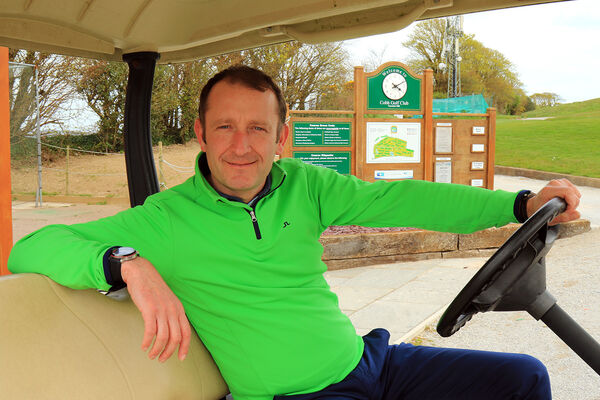 Cobh's PGA Professional David O'Sullivan has seen a huge increase in interest in golf since early May. Picture: Niall O'Shea