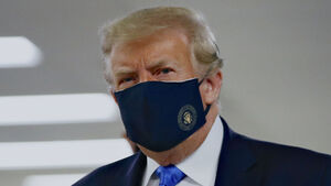 Wearing face covering a patriotic act, says Trump