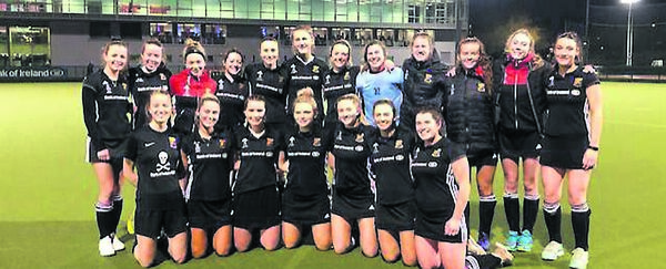 The UCC women's senior hockey squad who were awarded the Munster Division One title, their second in three seasons.