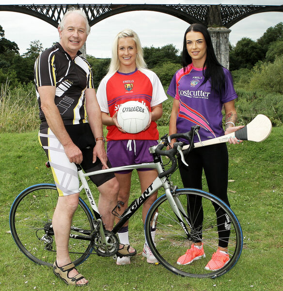 At the launch of the Clonakilty Charity Cycle at The Viaduct Inn were special guests Paudie Palmer, Bríd Stack and Ashling Thompson.