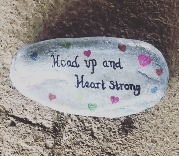 Kinsale Rocks is offering messages of encouragement to locals during the current pandemic.