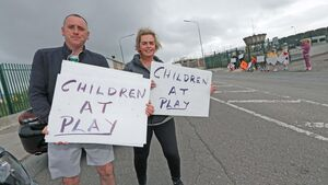 PICTURES: Knocknaheeny calls for action on speeding