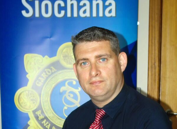 Crime prevention officer James O'Donovan
