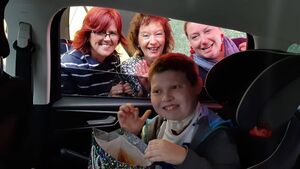 Pictures: All smiles at drive-by graduation for inspirational students in Cork city school