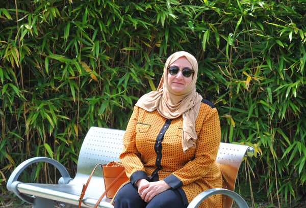 Living Leeside this week is an Iraq lady Fadila Al Ubaidi who now lives in Carrigaline Co. Cork.Pic; Larry Cummins