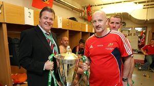 Former Munster coach will leave a void as he takes a break from Cork rugby