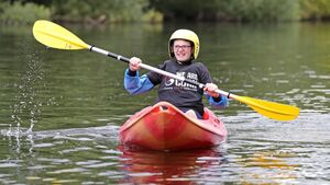 Pictures: Cork youths make the most of the sunshine by kayaking on the River Lee