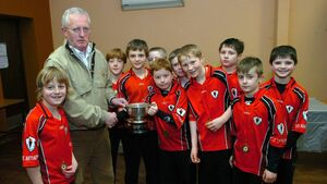 Tributes pour in for Jerry Walsh for his great service to Sciath na Scol in Cork