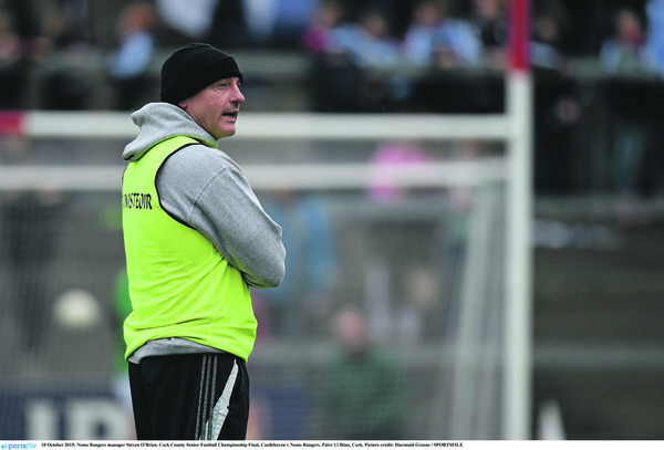 Managing Nemo to the 2015 county. Picture: Diarmuid Greene/SPORTSFILE