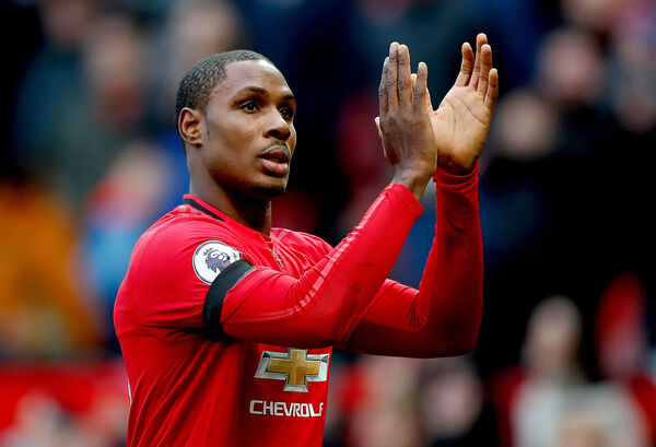 Manchester United's new recruit Odion Ighalo. Picture: Martin Rickett/PA Wire.