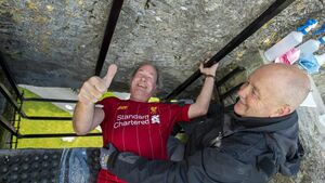 Reopening of Blarney Castle sealed with a kiss