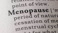 Dictionary definition of menopause
