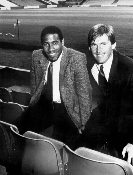 Kenny Dalglish and John Barnes.