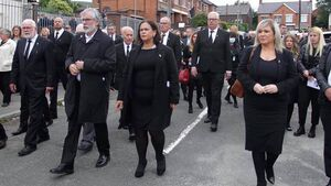 Cork TD says 'incredible efforts' were made to physically distance at Republican's Belfast funeral