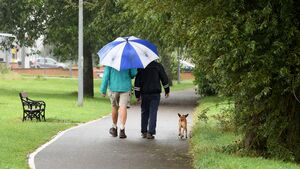 Umbrellas at the ready: Showers expected for the second half of the week in Cork