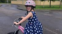 Cork 8-year-old cycled 22km in laps around her home to raise funds for Marymount