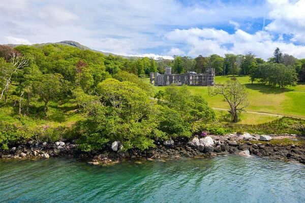 A castle is for sale in Glengarriff, with a price tag of €2.75 million.