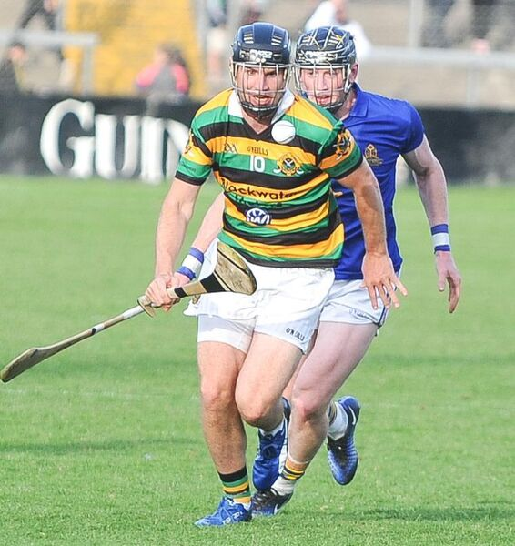 Glen Rovers' Dean Brosnan gets away from St Finbarr's Damien Cahalane, during the 2017 Cork SHC clash at Páirc Uí Rinn. Picture: David Keane.