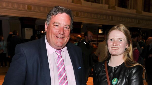 Green Party councillors Dan Boyle and Lorna Bogue.Picture: David Keane.