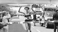 Controversy in the 1984 Cork City Marathon as both winners were disqualified over breaking rules on logos