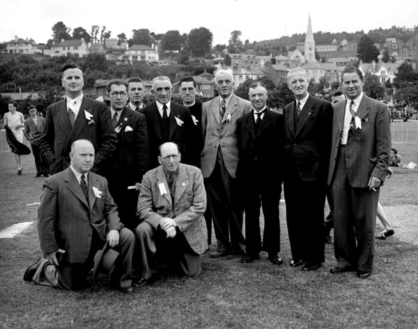 Cork City Sports organising committee, pictured in 1951.