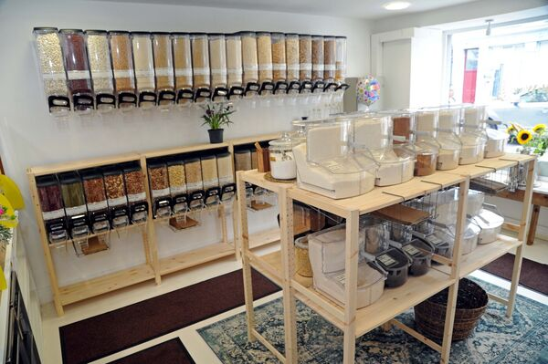 The Earthway Refill shop in which everything is organic where possible at Main St., Midleton, Co. Cork.Picture Denis Minihane.