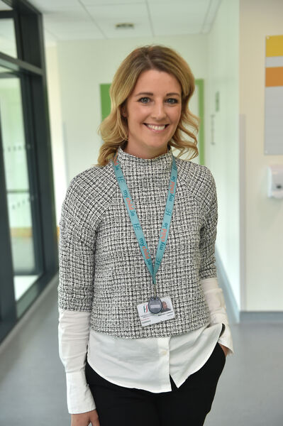 Martina Corcoran at the Blackrock Health Primary Care Centre. Picture: Dan Linehan