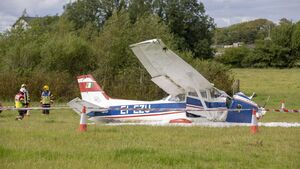 Investigations underway after light aircraft crash-lands on journey from Cork to Roscommon