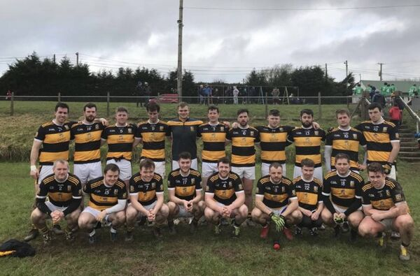 2020 Buttevant side before their first league game this season.