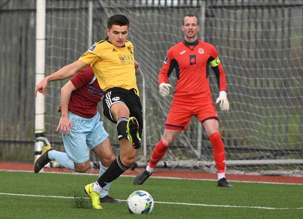 Cork City's Daire O'Connor in action against Cobh Ramblers during a friendly in Mayfield. Picture: Doug Minihane