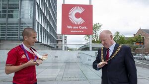 Lord Mayor and Rob Heffernan team up to launch Cork Camino Challenge in aid of well-known charities