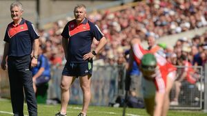 Cork boss Kingston: This is the time of year we all love to be out hurling