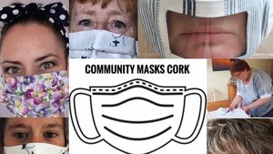 We've made 600 masks, and have homes for them all