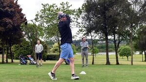 Picture gallery: Golfers were back on the fairways today at Mahon, Douglas and Cork Golf Club