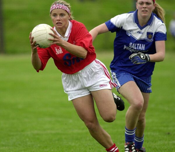 Amy O'Shea on the move. Picture: Maurice O'Mahony
