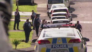 Man held in New Zealand after police officer shot dead during traffic stop