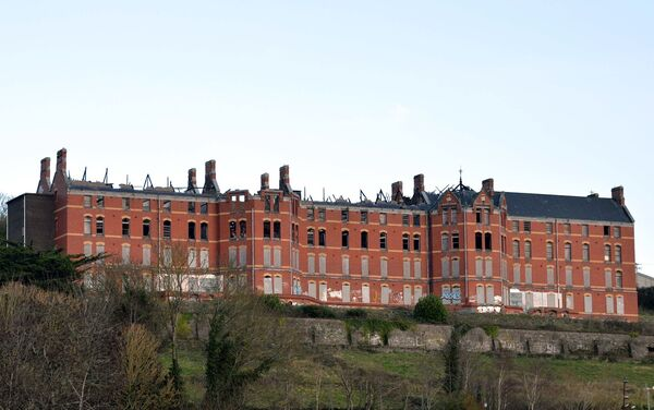 St. Kevin's facility which was damaged by fire in 2017 pictured as it currently stands in Cork.Picture Denis Minihane.