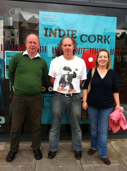 Eddie Noonan and Emma Bowell screening of Mother Jones at IndieCork