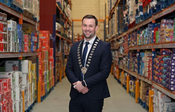 Cork Business Association President, Eoin O'Sullivan, at M&P O'Sullivan, Sarsfield Road, Cork. Picture: Jim Coughlan