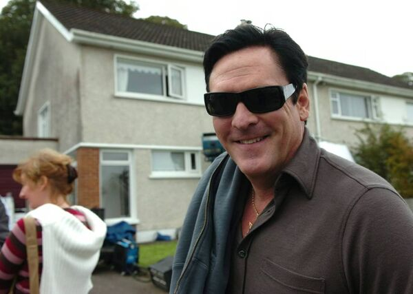 Micheal Madsen filming on Lime Tree roads, Rochestown. Picture: Eddie O'Hare