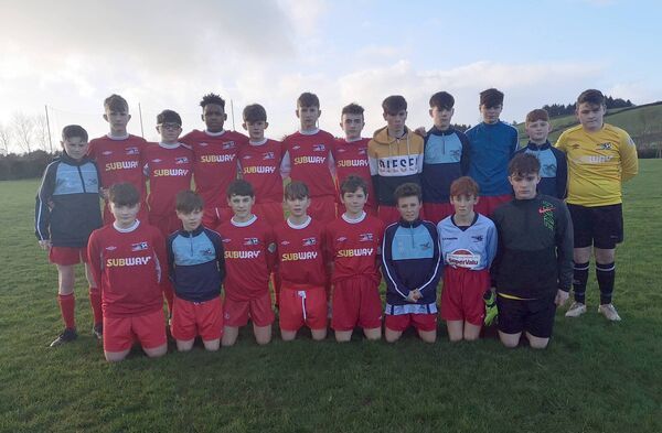 The West Cork Schoolboys U14 Inter-League squad that defeated North Tipperary 3-0 in the Munster Inter-League competition at the Baltimore Road in Skibbereen last season.