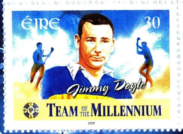 A stamp in the memory of hurling icon Jimmy Doyle, Tipperary.