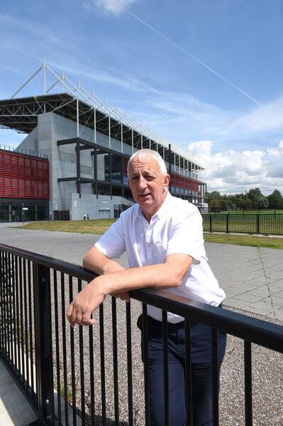 Examiner Sport- Big Interview with Conor Counihan at Pairc Ui Chaoimh, Cork. 01/08/2019.Pic; Larry Cummins