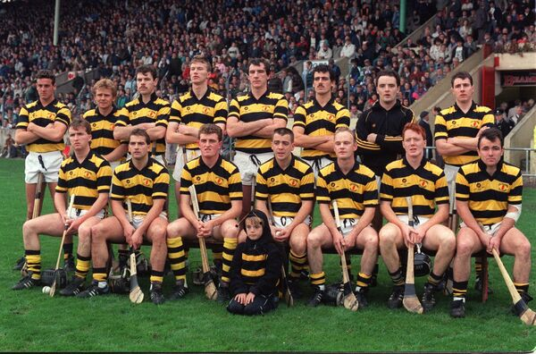 The Na Piarsaigh team that beat St Finbarrs in the 1990 Cork county final.