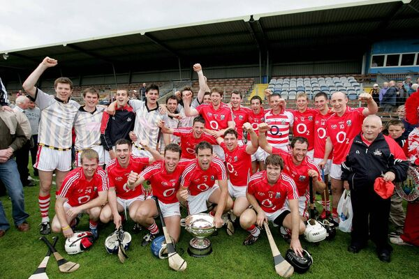 The 2009 All-Ireland winning team, which included Nash, O'Farrell and McLoughlin. Picture: INPHO/Morgan Treacy