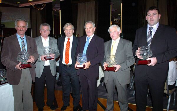 2009 selectors Johnny Keane; Ger O'Halloran; Jerry O'Sullivan, chairman, cork county board; Pat O'Connell, Fintan Coleman and Michael Holland. Picture: Larry Cummins